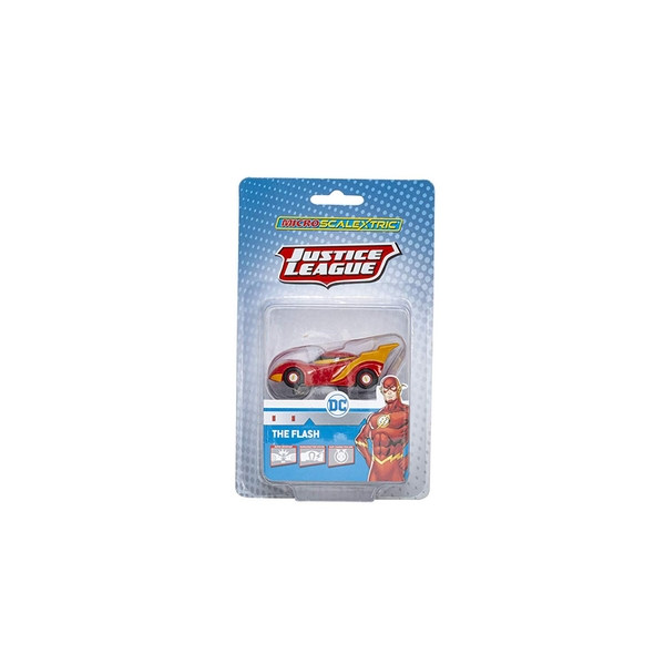 Flash (Justice League) Micro Scalextric Car - Image 1