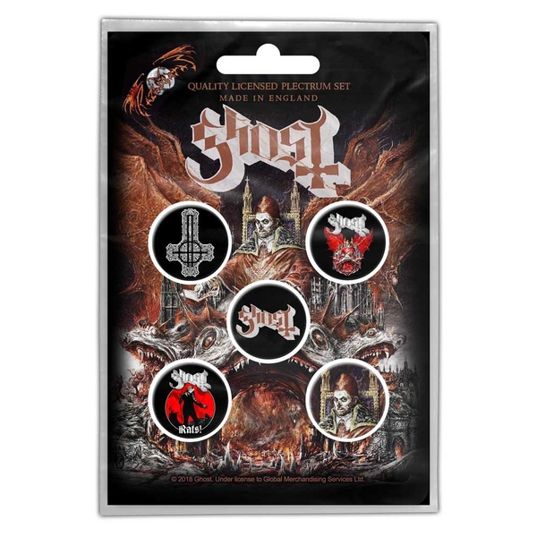 Ghost - Prequelle Button Badge Pack