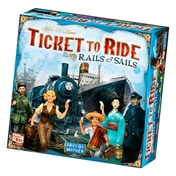 Ex-Display Ticket to Ride Rails & Sails Used - Like New