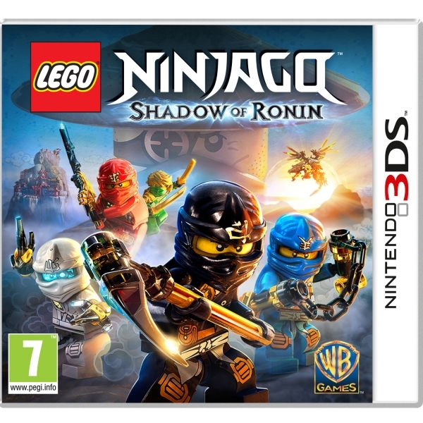 Lego Ninjago Shadow of Ronin 3DS Game