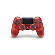 New Sony Dualshock 4 V2 Translucent Red Crystal Controller PS4