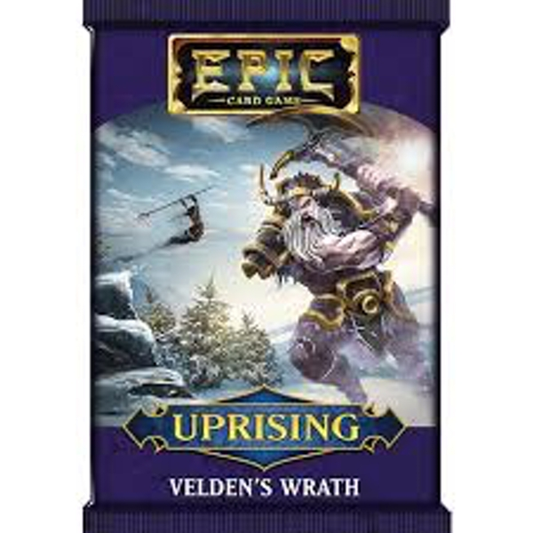Epic Card Game Uprising: Velden's Wrath Expansion