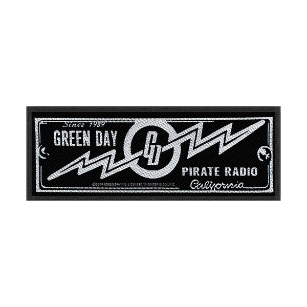 Green Day - Pirate Radio Standard Patch