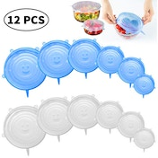 Set of 12 Reusable Food Covers