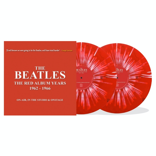 The Beatles ‎– The Red Album Years 1962-1966 Limited Edition Red Splatter Vinyl