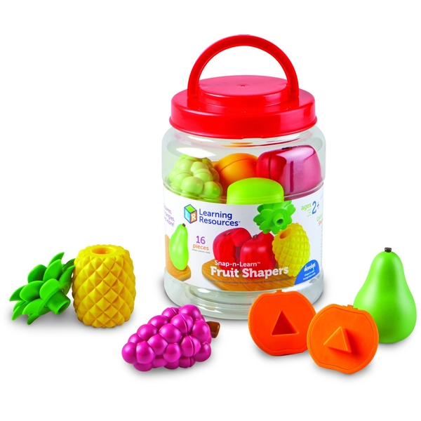 Snap-N-Learn Fruit Shapers Activity Set