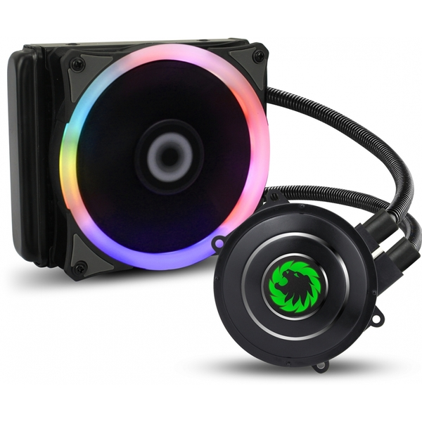 Game Max Iceberg 120mm Water Cooling System with 7 Colour PWM Fans