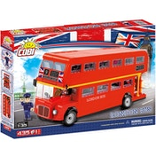 Cobi Action Town London Bus - 435 Toy Building Bricks