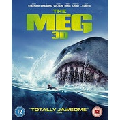 The Meg 3D Blu-ray