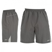 Slazenger Woven Shorts Black Large Dark Grey