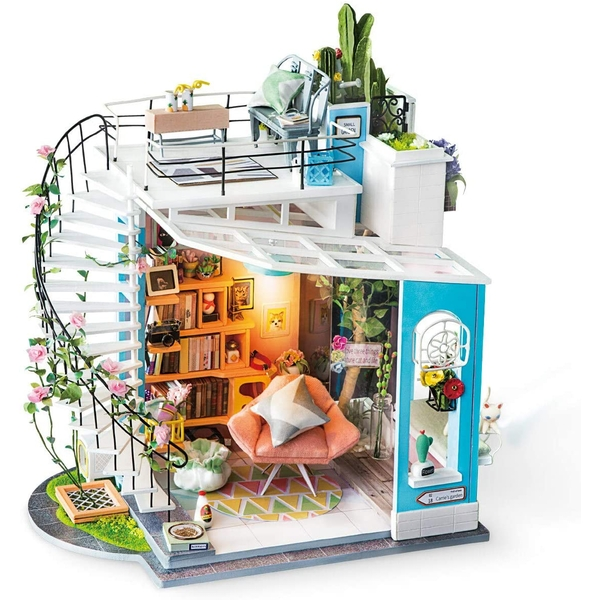 Robotime Dora's Loft Miniature Model Making Kit