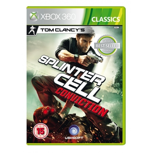 Tom Clancys Splinter Cell Conviction (Classics) Game Xbox 360 - Image 1