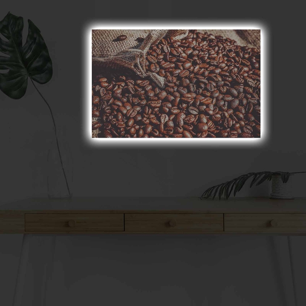4570KDACT-005 Multicolor Decorative Led Lighted Canvas Painting