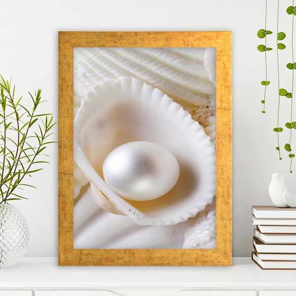 AC721711541 Multicolor Decorative Framed MDF Painting