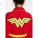 Wonder Woman DC Comics Retro Red Hoodless Robe - Image 2