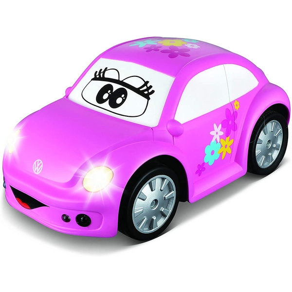 BB Junior VW Volkswagen Easy Play Radio Controlled Toy Car (Pink)