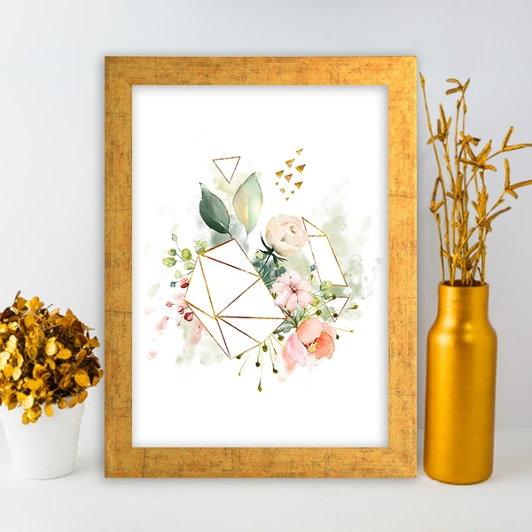 AC1070052965 Multicolor Decorative Framed MDF Painting