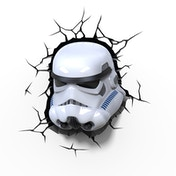 3D Wall Light Storm Trooper