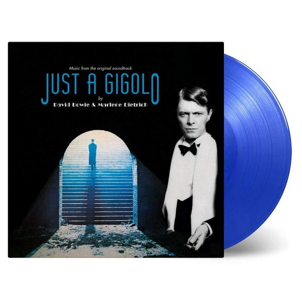 David Bowie / Marlene Dietrich - Revolutionary Song / Just A Gigolo Transparent Blue Coloured  Rsd 2019 Vinyl