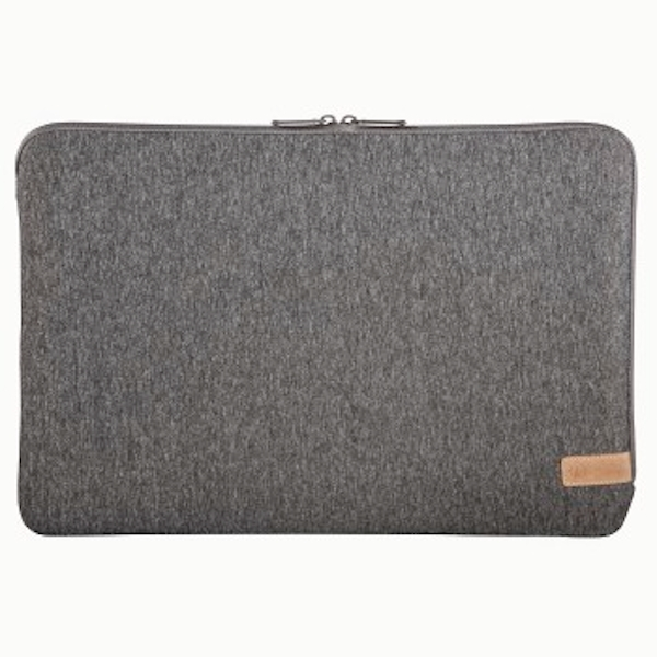 "Hama""Jersey"" Laptop Sleeve up to 15.6"" 40 cm (15.6 inches), dark grey"
