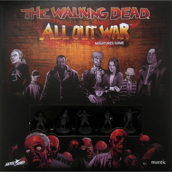 The Walking Dead All Out War Core Set Board Game