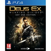 Deus Ex Mankind Divided Day One Edition PS4 Game