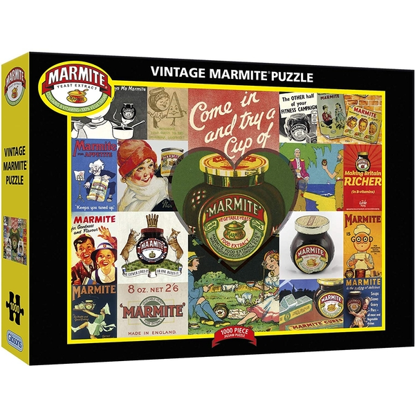 Gibsons Vintage Marmite Jigsaw Puzzle - 1000 Pieces