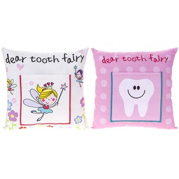Pink Tooth Fairy Cushion (One Supplied)