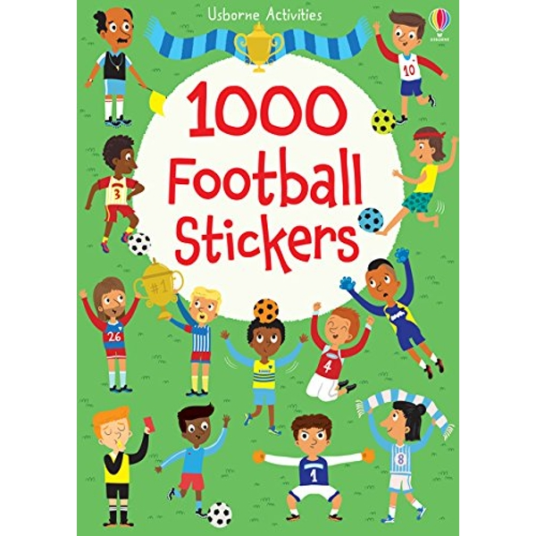 1000 Football Stickers by Lucy Bowman (Paperback, 2015)
