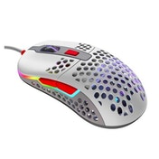 XTRFY M42 Wired Optical Ultra-Light Gaming Mouse, USB, 400-16000 DPI, Omron Switches, Adjustable RGB, Modular Design, Retro