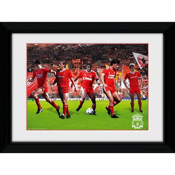Liverpool Legends Framed 16x12 Photographic Print