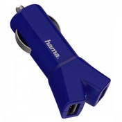 Hama Colour Line 12V Charger 2x USB 3.4 A (Blue)