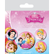 Disney Princess - Belle, Cinderella, Snow White and Aurora Badge Pack - Image 2