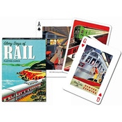 Glory Days of Rail Collectors Playing Cards