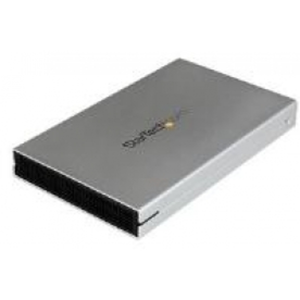 StarTech eSATAp / eSATA or USB 3.0 External 2.5 inch SATA III 6 Gbps Hard Drive Enclosure with UASP - Portable HDD / SDD