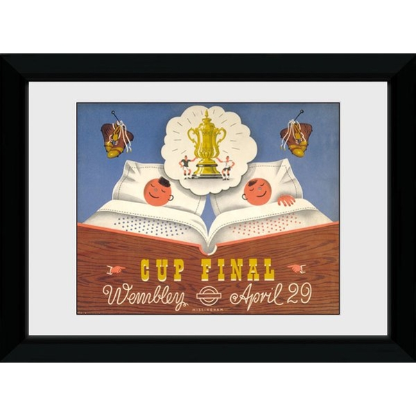 Transport For London Cup Final 50 x 70 Framed Collector Print