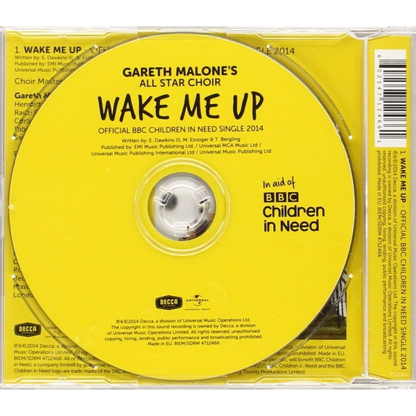 9285e7eb66a4 Gareth Malone s All Star Choir - Wake Me Up - Official BBC Children In Need  Single