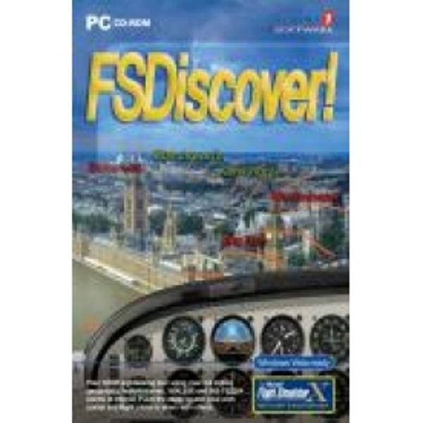 FS Discover! Flight Simulator X 2004 Add On Game PC
