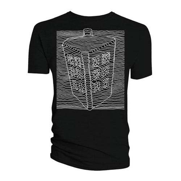 Doctor Who - Big Tardis Radio Waves Women's XX-Large T-Shirt - Black