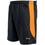Precision Real Shorts 38-40 inch Black/Tangerine