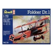 Fokker Dr. 1 Triplane 1:72 Revell Model Kit