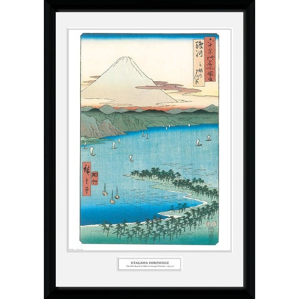Hiroshige The Pine Beach At Miho 50 x 70 Collector Print