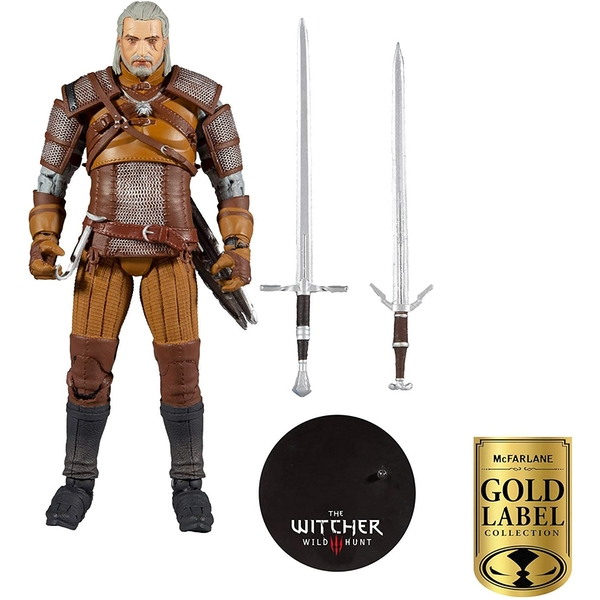 Geralt of Rivia (The Witcher) McFarlane WM Collector Series Figure