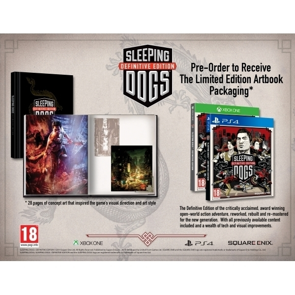 Sleeping Dogs Definitive Limited Edition PC Game (Boxed and Digital Code) - Image 2