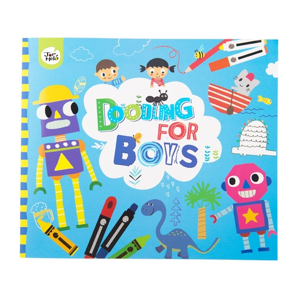 Doodling for boys Book