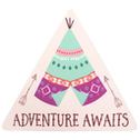 Adventure Awaits Magnet Pack Of 6