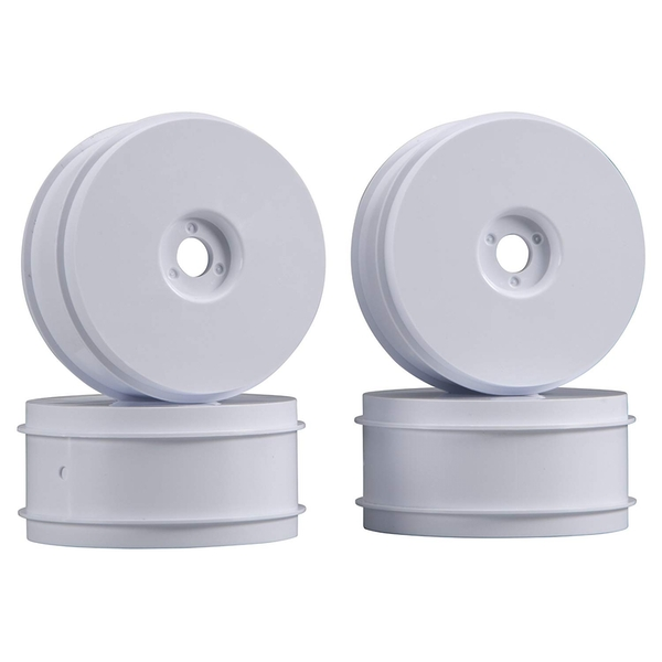 Team Associated RC8 83mm 1/8th White Wheels (Pack of 4)