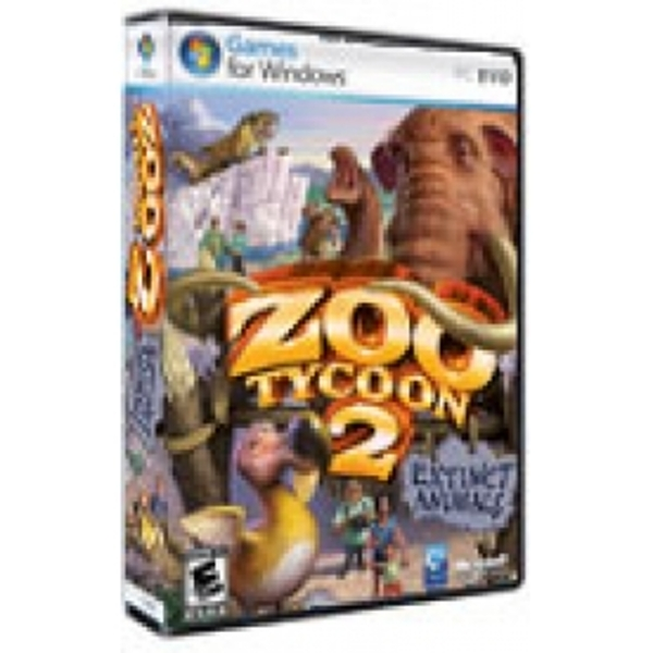 Zoo Tycoon 2 Extinct Animals Expansion Pack Game PC - ozgameshop com