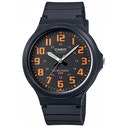 Casio MW-240-4BVEF Mens Analogue Watch with Resin Strap Black