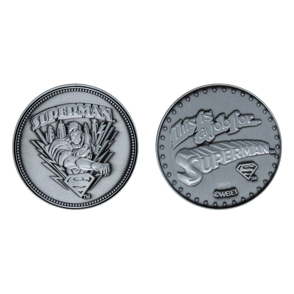 DC Comics Collectable Coin Superman Limited Edition